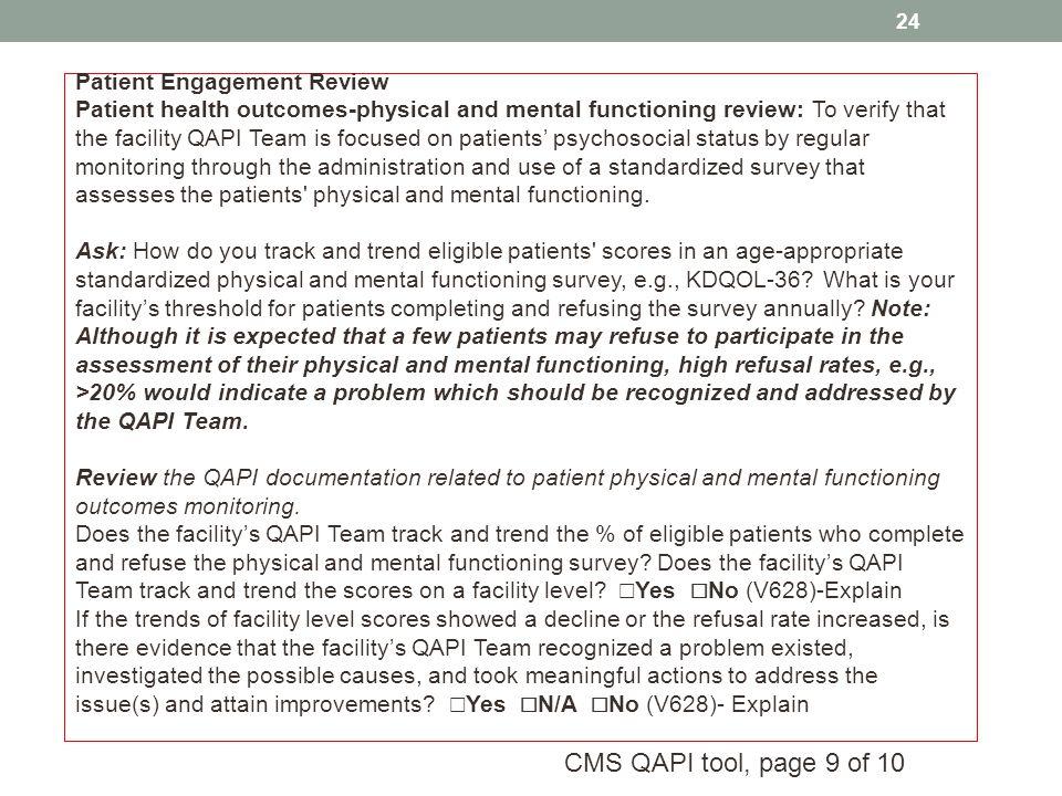Patient Engagement Review