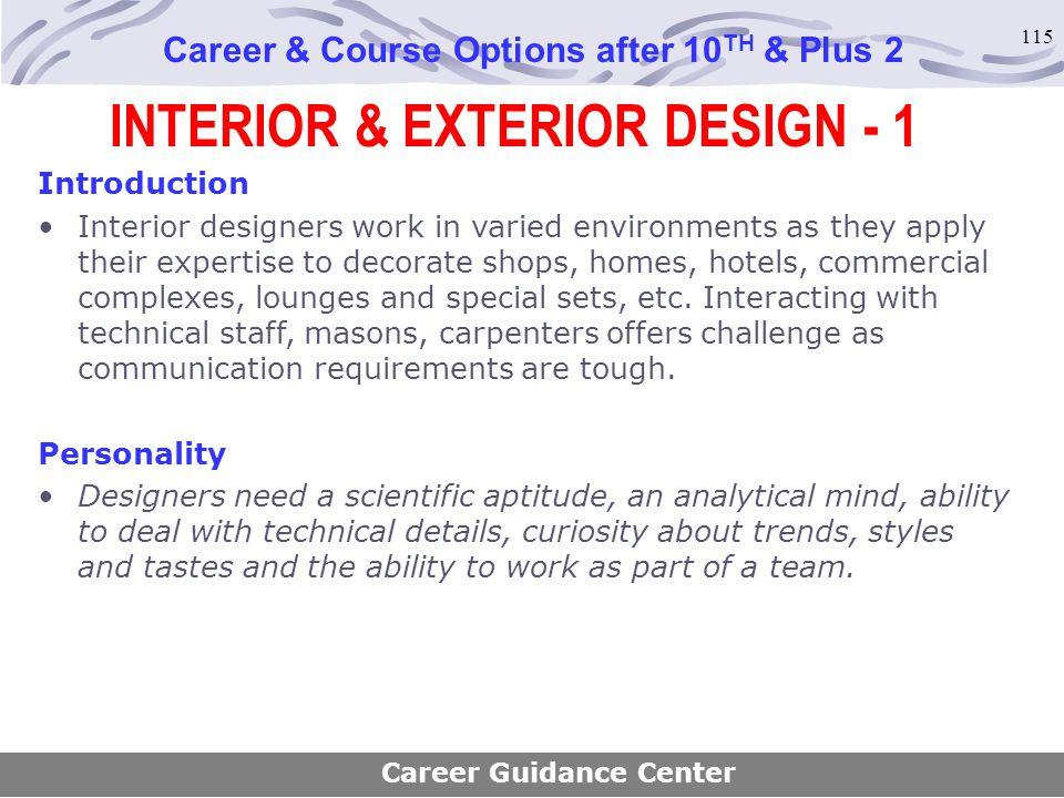 INTERIOR & EXTERIOR DESIGN - 1