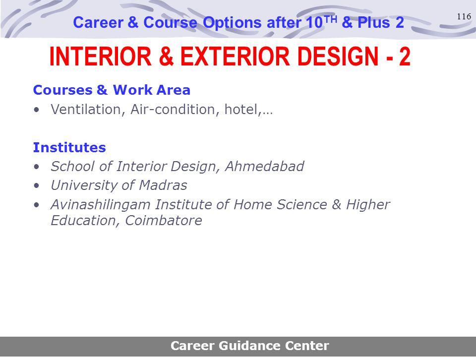 INTERIOR & EXTERIOR DESIGN - 2