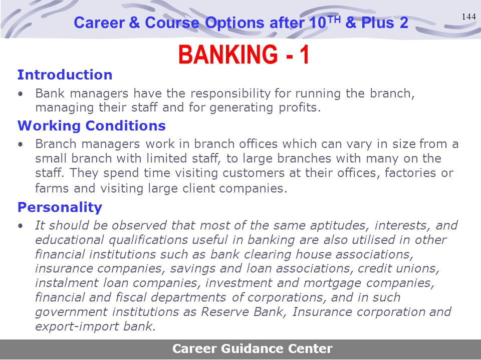 Career & Course Options after 10TH & Plus 2 Career Guidance Center