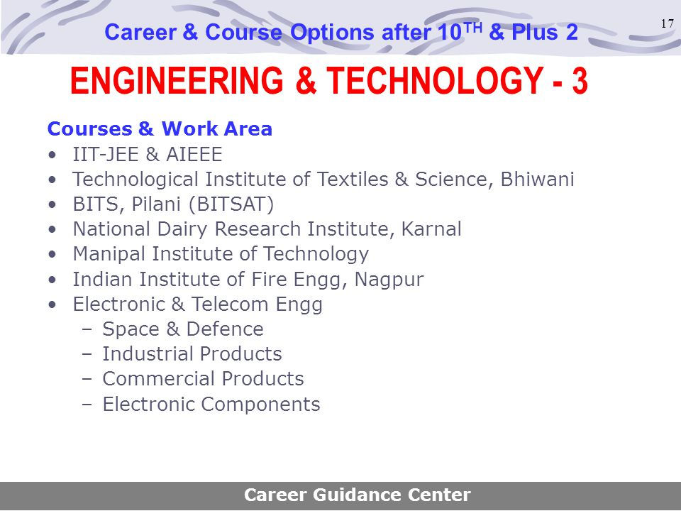 ENGINEERING & TECHNOLOGY - 3