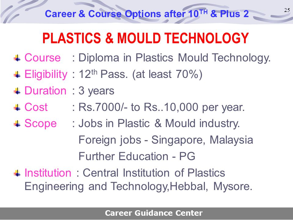 PLASTICS & MOULD TECHNOLOGY