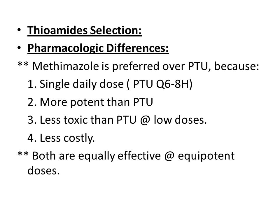 Thioamides Selection: