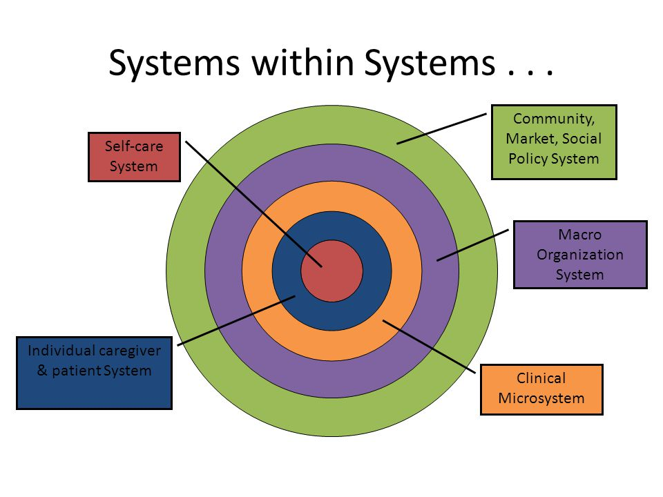 Systems within Systems . . .