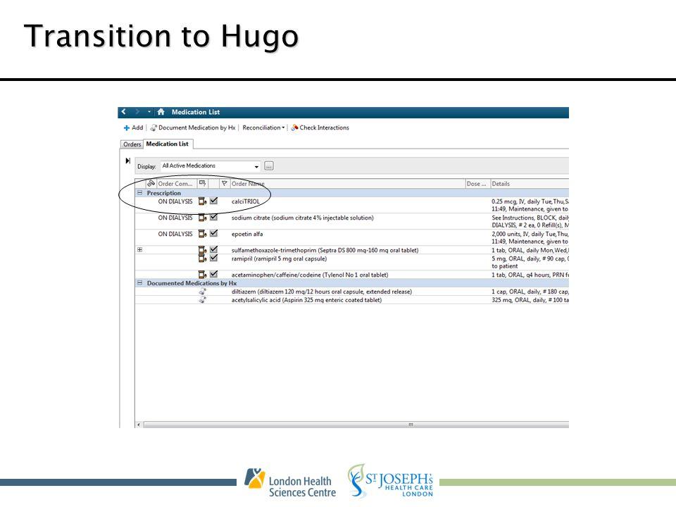 Transition to Hugo