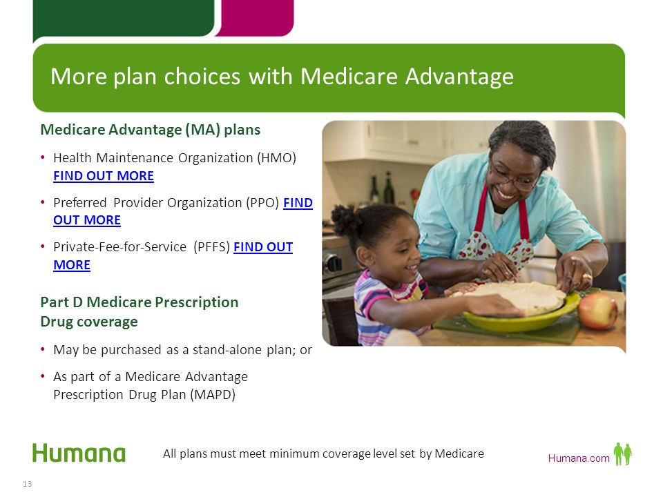 More plan choices with Medicare Advantage