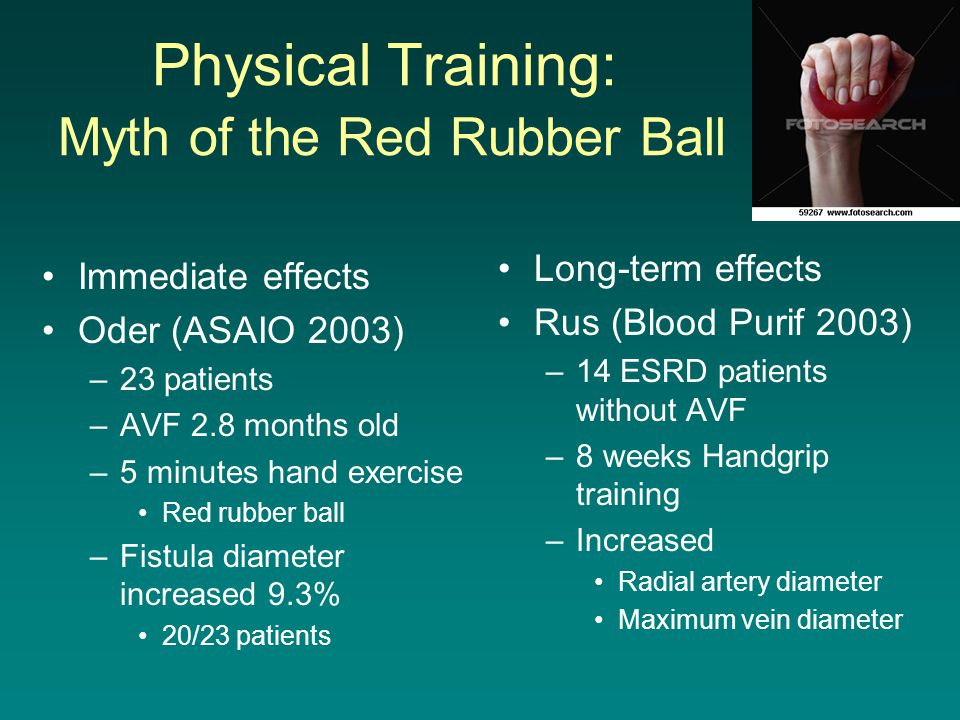 Physical Training: Myth of the Red Rubber Ball