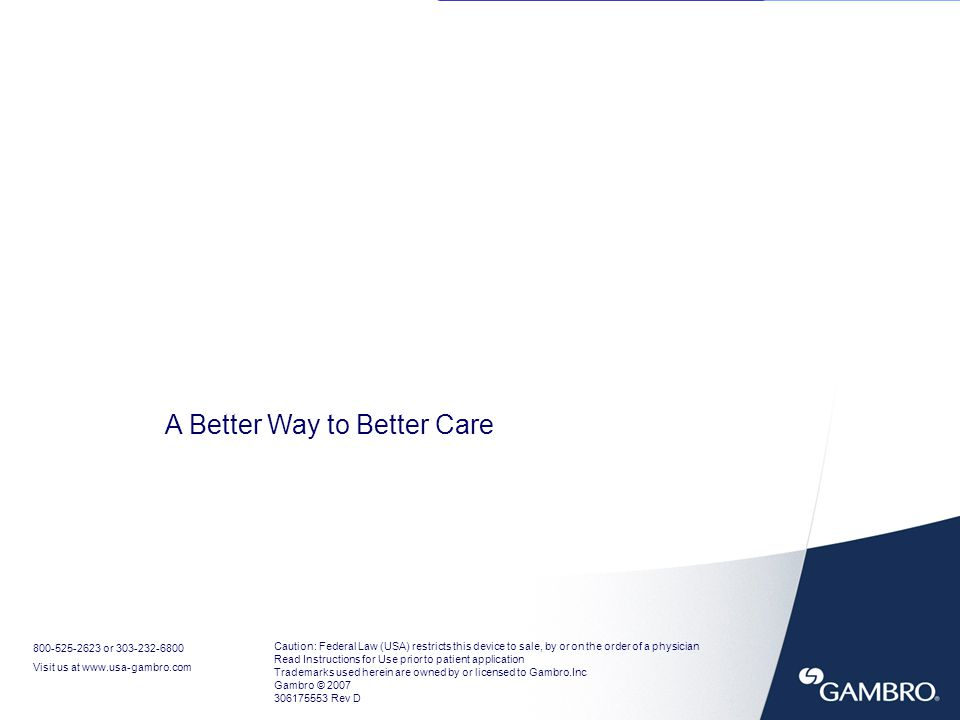A Better Way to Better Care