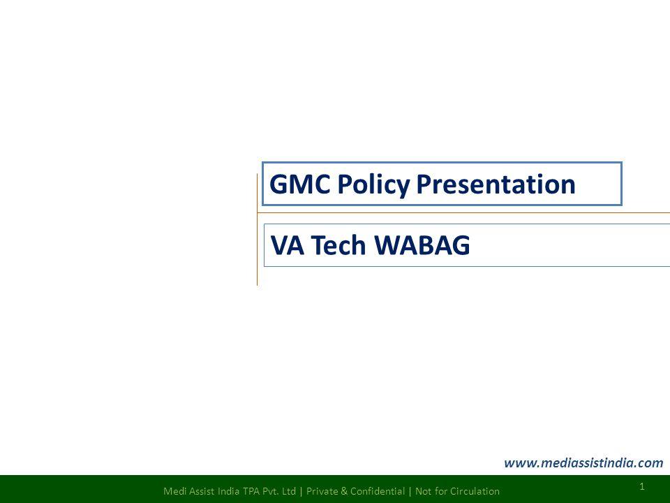 GMC Policy Presentation