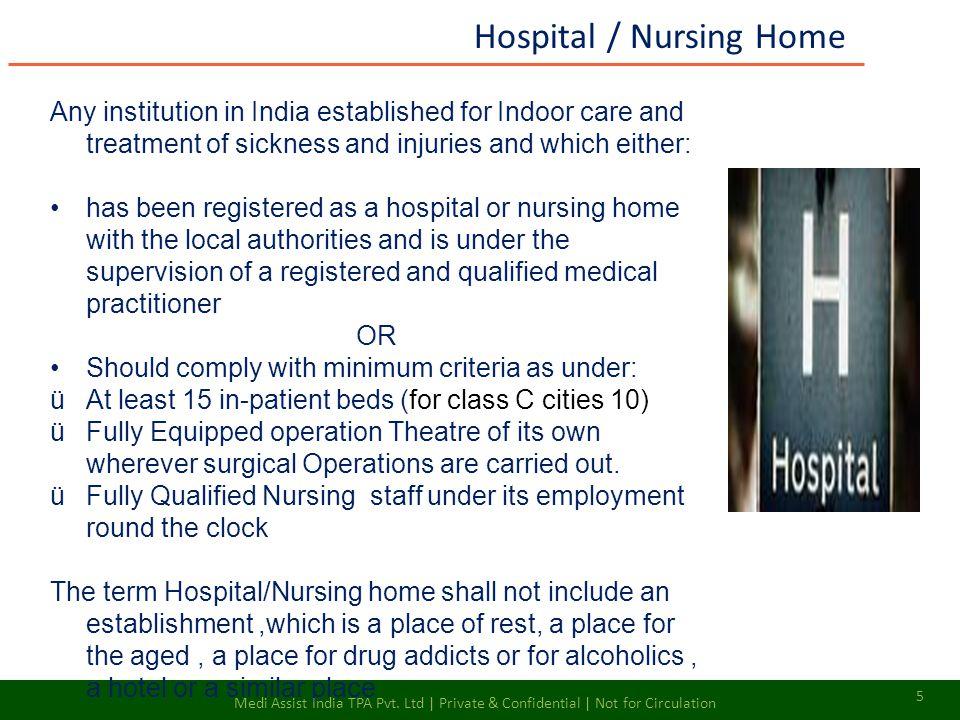 Hospital / Nursing Home