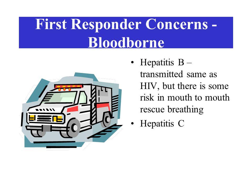 First Responder Concerns - Bloodborne