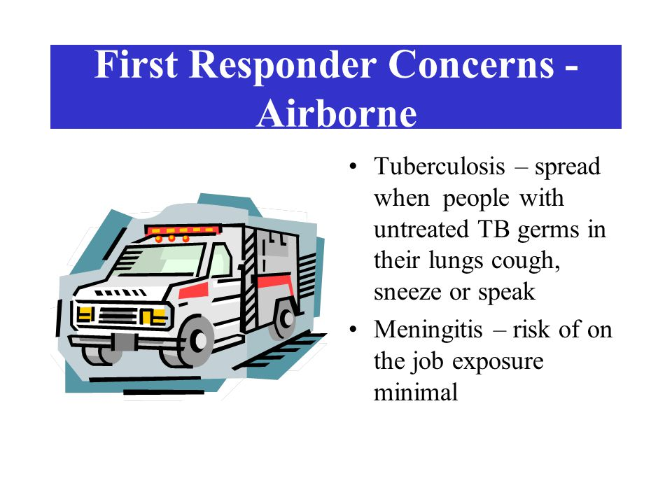 First Responder Concerns - Airborne