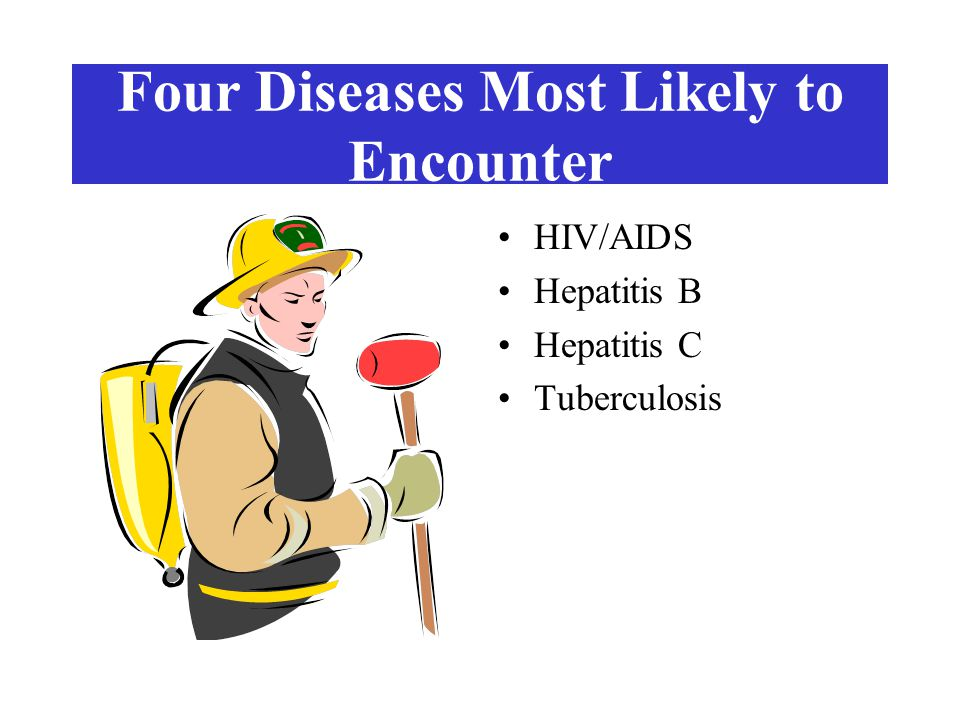 Four Diseases Most Likely to Encounter