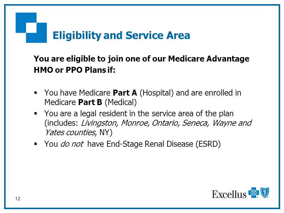 Eligibility and Service Area