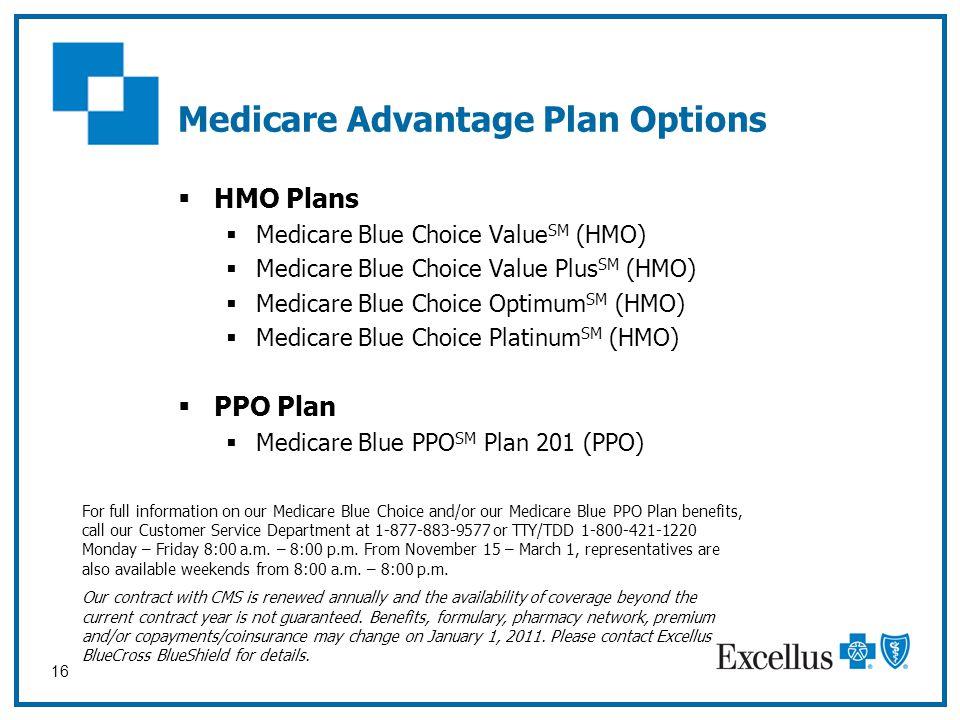 Medicare Advantage Plan Options