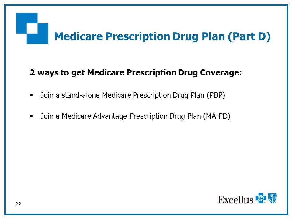 Medicare Prescription Drug Plan (Part D)