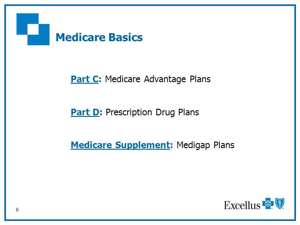 Medicare Basics Part C: Medicare Advantage Plans