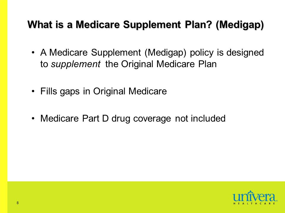 What is a Medicare Supplement Plan (Medigap)