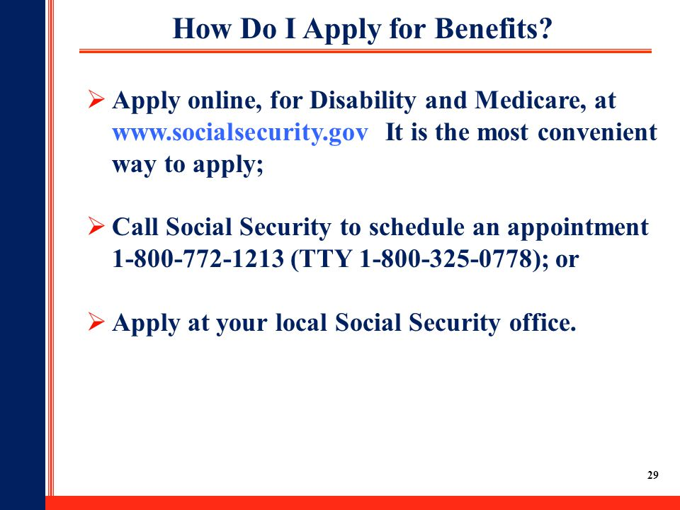 Social security ppt download - Local social security administration office ...