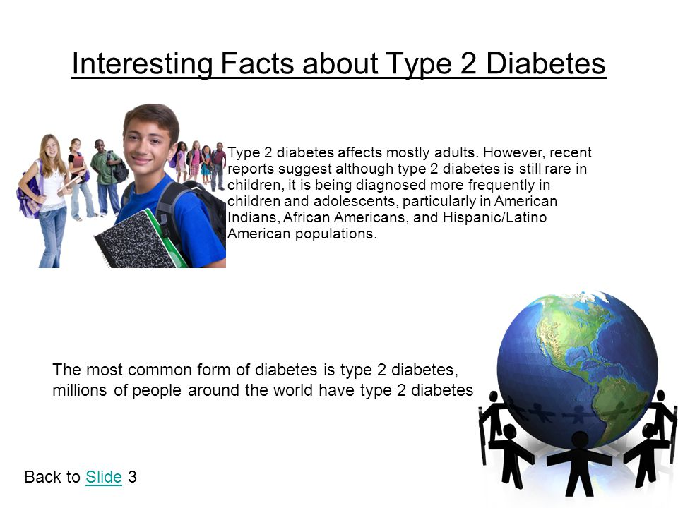Interesting Facts about Type 2 Diabetes