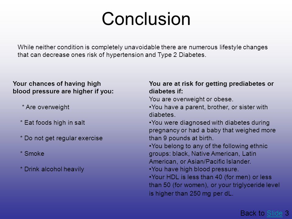 Conclusion Back to Slide 3