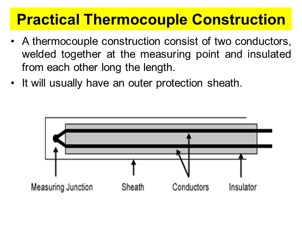 Practical Thermocouple Construction