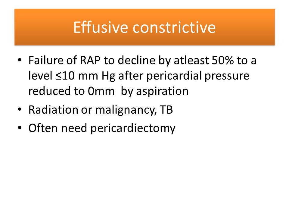 Effusive constrictive
