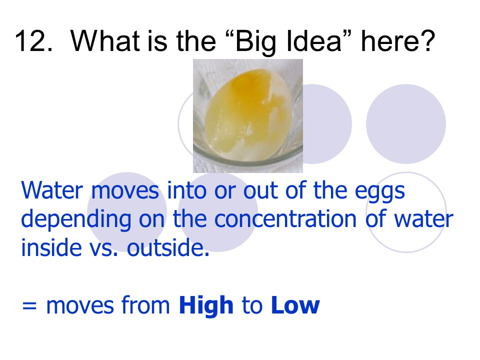 12. What is the Big Idea here