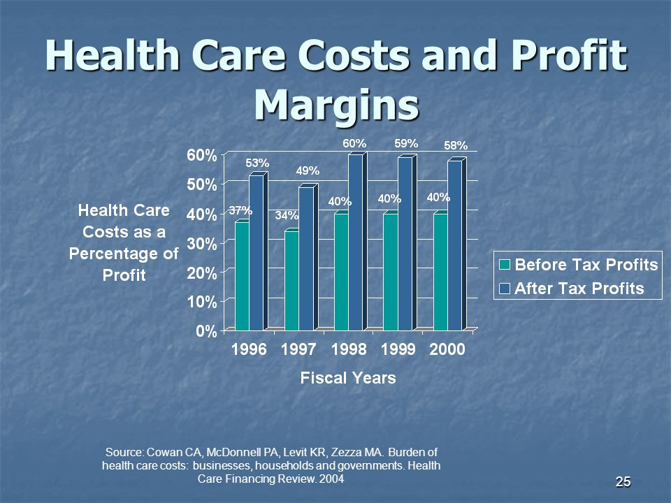 Health Care Costs and Profit Margins