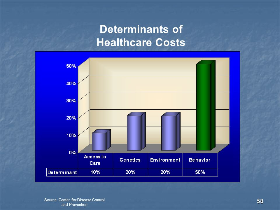 Determinants of Healthcare Costs