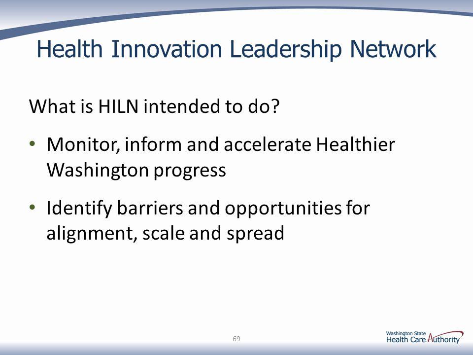 Health Innovation Leadership Network