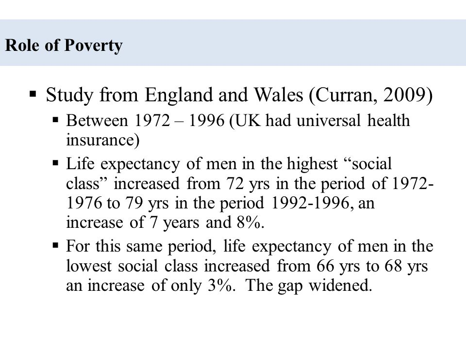 Study from England and Wales (Curran, 2009)