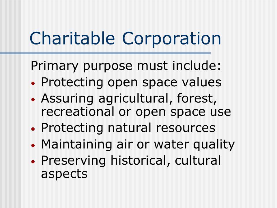 Charitable Corporation