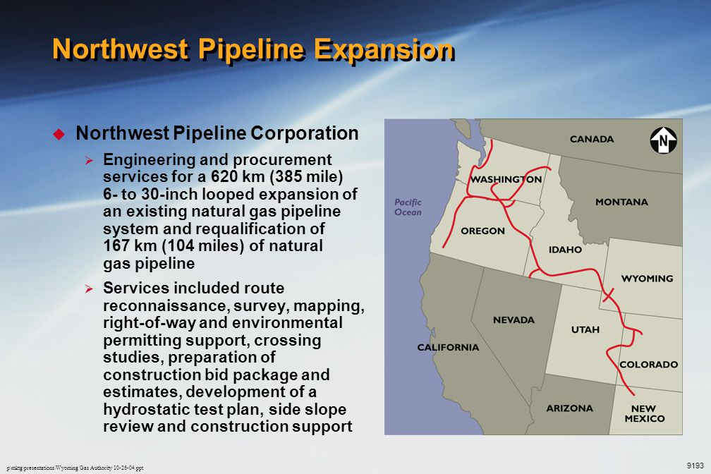 Northwest Pipeline Expansion