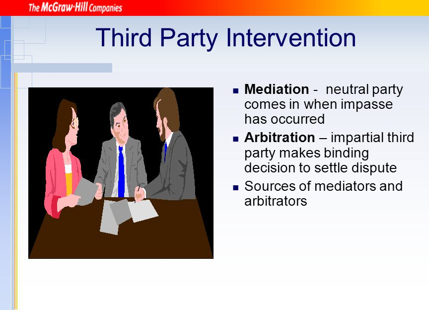 Third Party Intervention