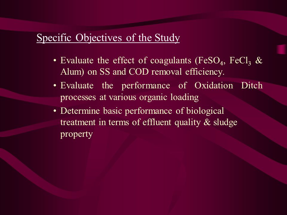 Specific Objectives of the Study