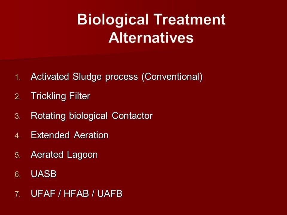 Biological Treatment Alternatives