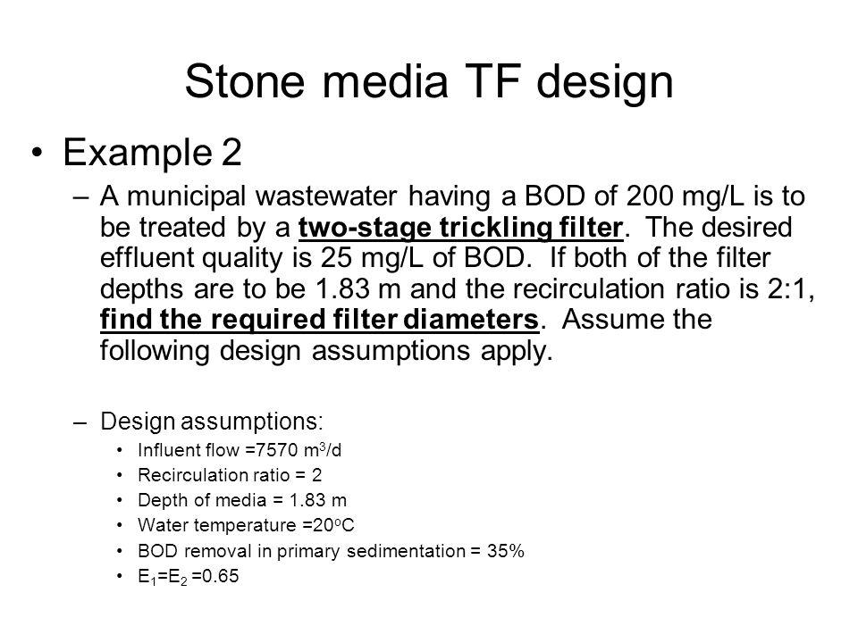 Stone media TF design Example 2