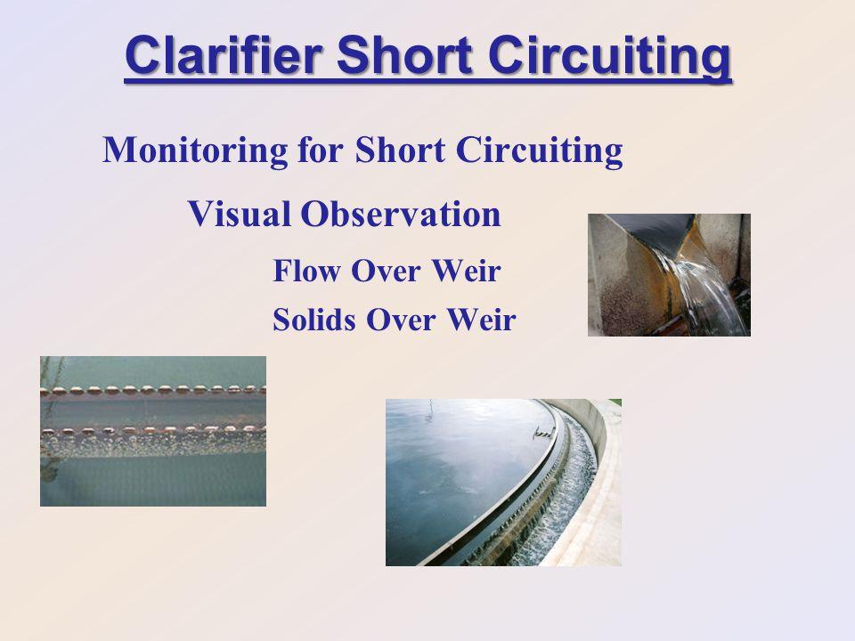 Clarifier Short Circuiting