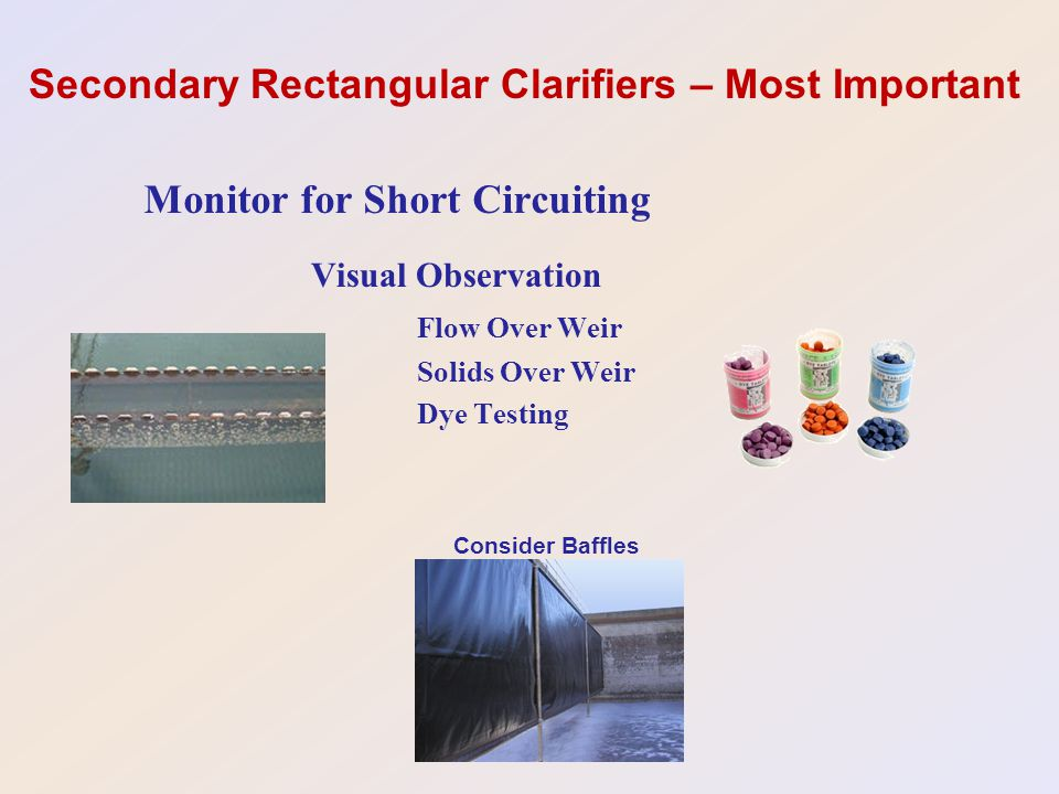 Secondary Rectangular Clarifiers – Most Important