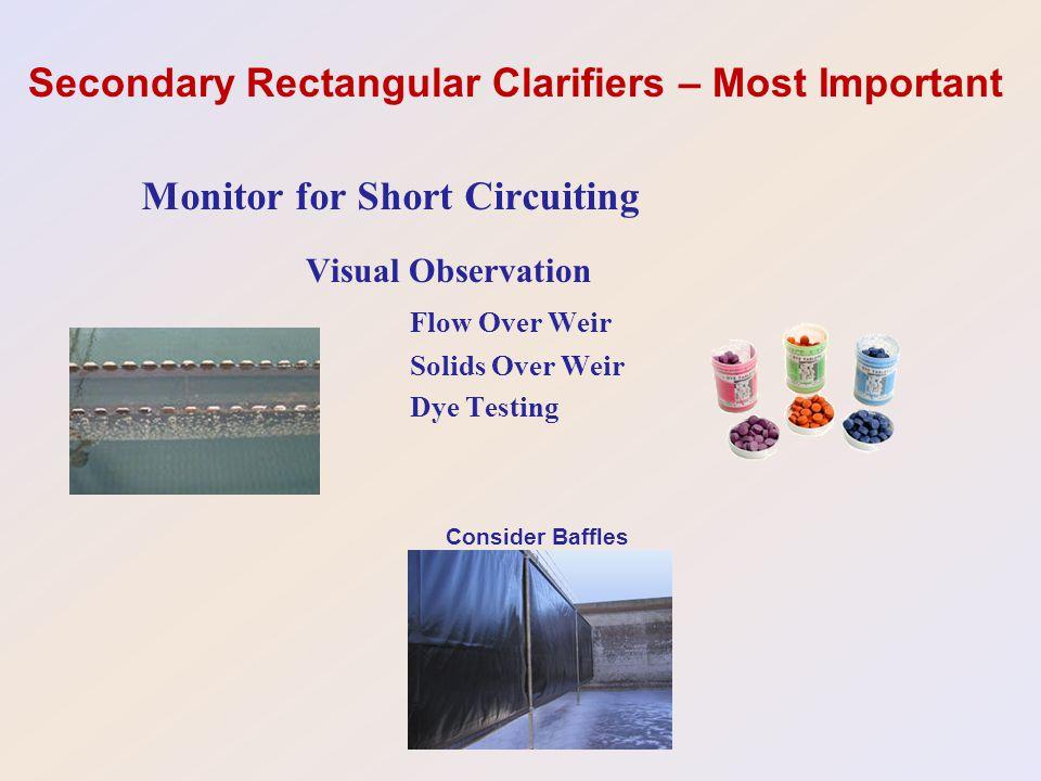 Secondary Rectangular Clarifiers – Most Important