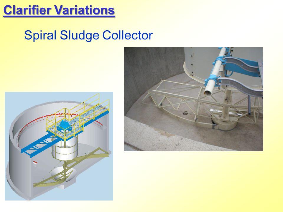 Clarifier Variations Spiral Sludge Collector