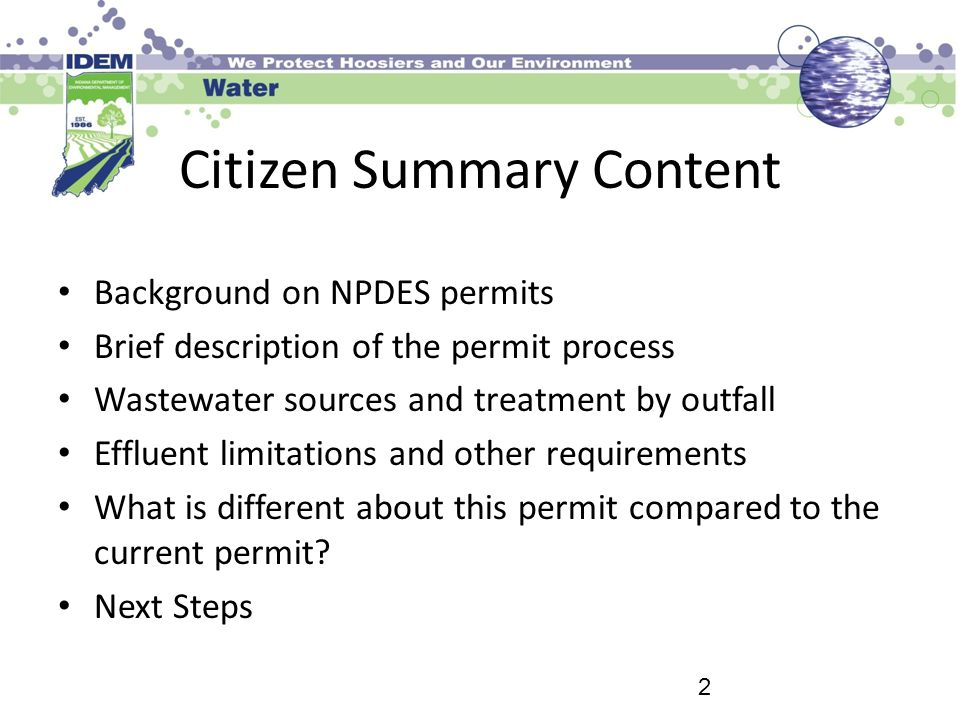 Citizen Summary Content