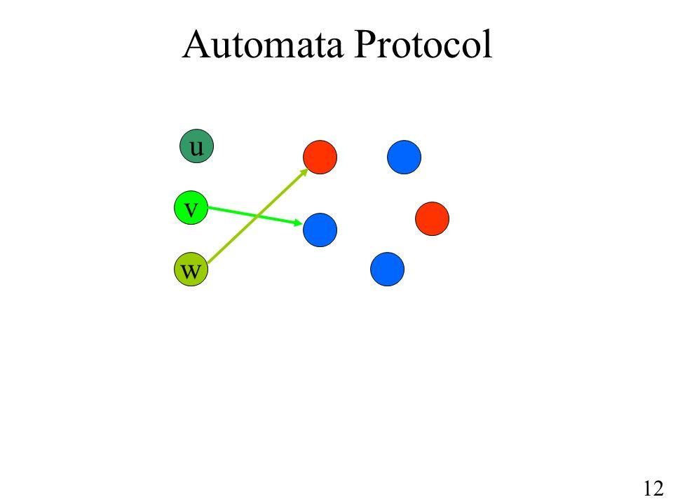 Automata Protocol u v w 12