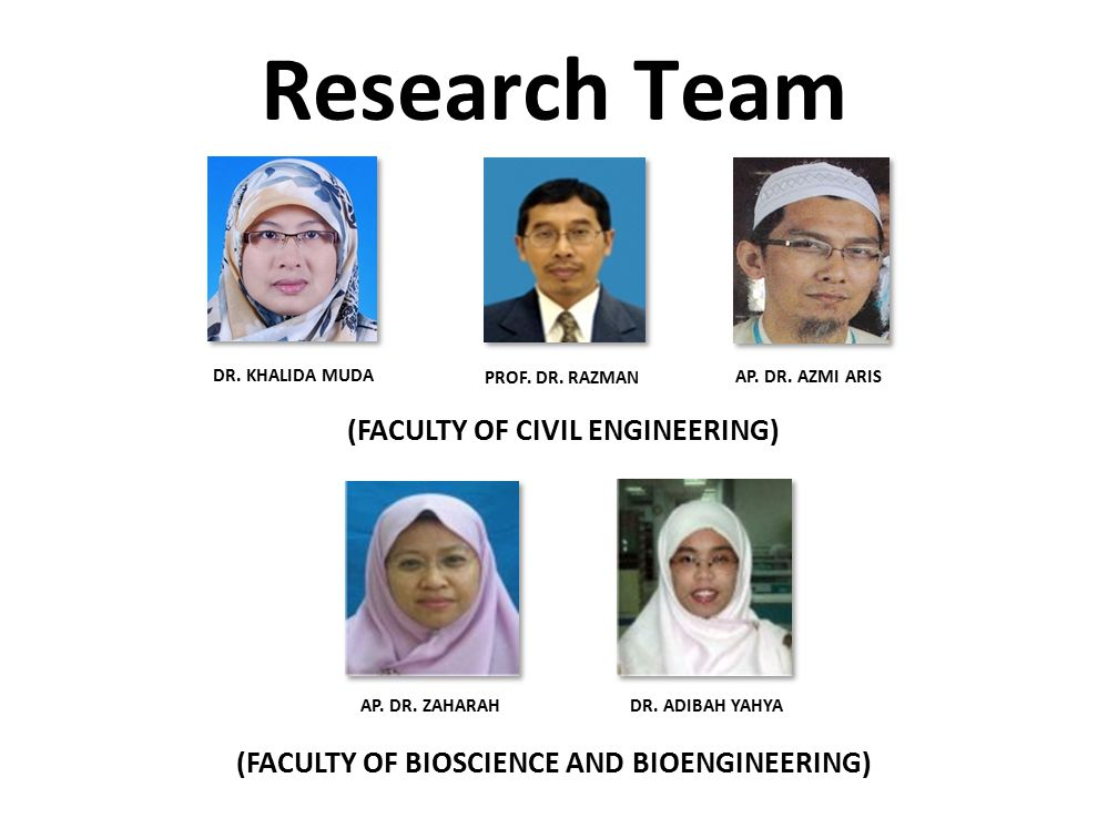 Research Team (FACULTY OF CIVIL ENGINEERING)