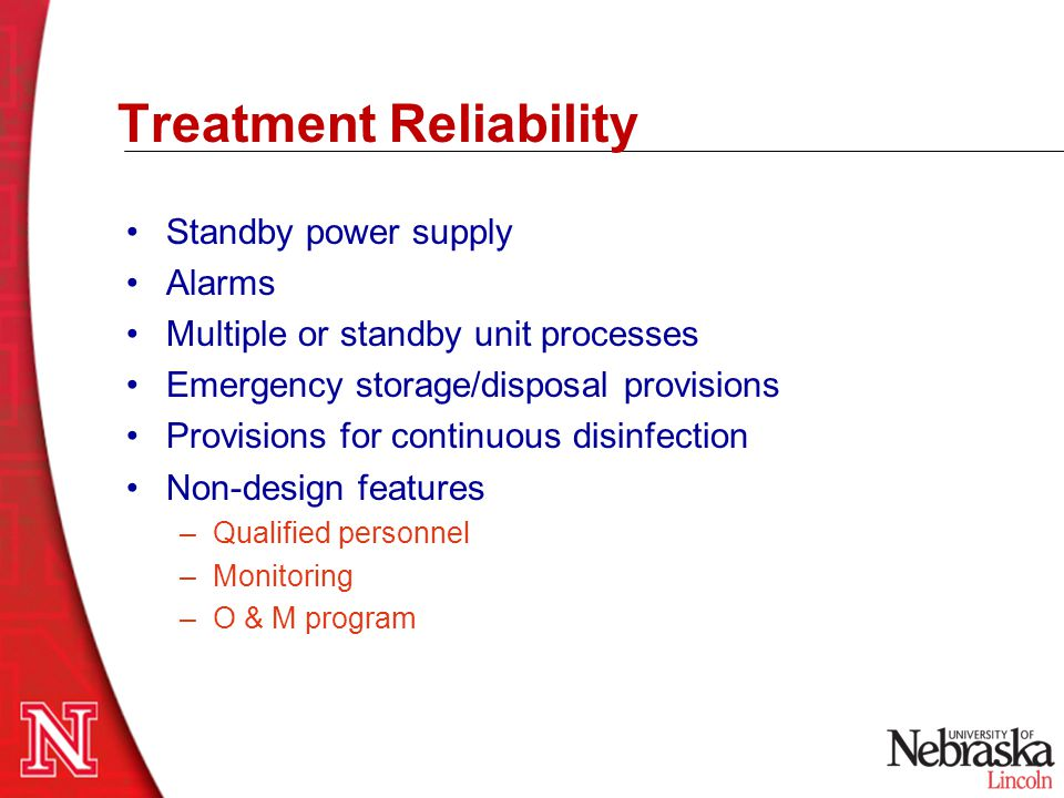 Treatment Reliability