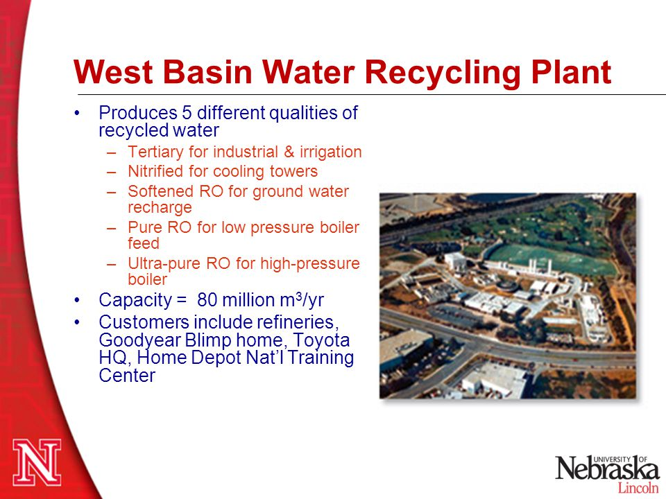 West Basin Water Recycling Plant