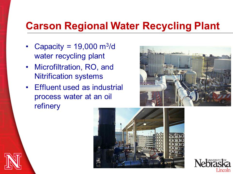 Carson Regional Water Recycling Plant