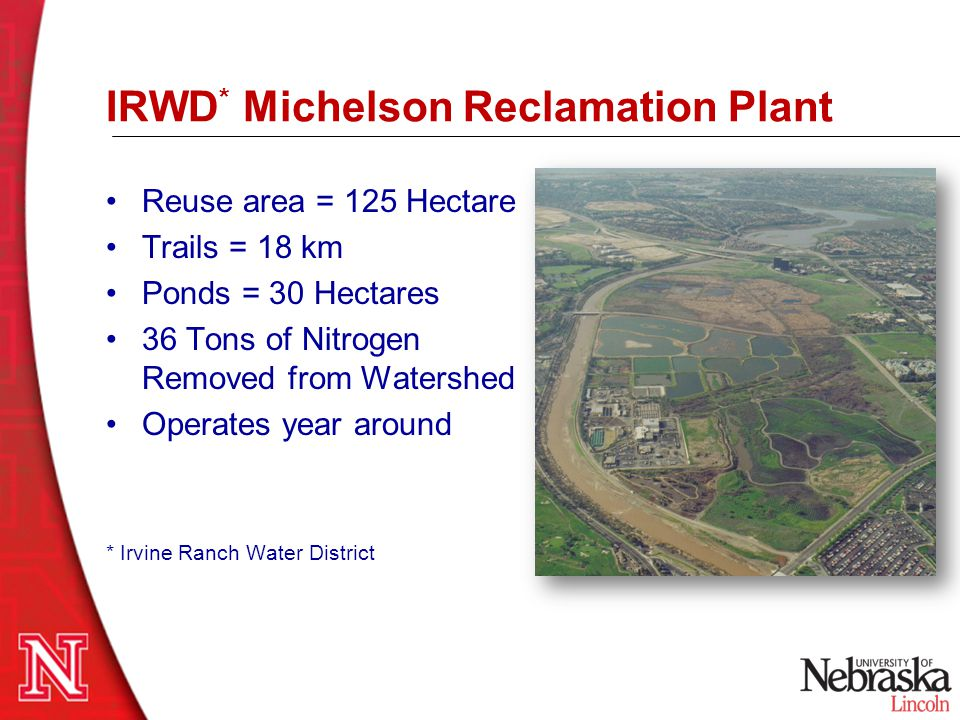 IRWD* Michelson Reclamation Plant