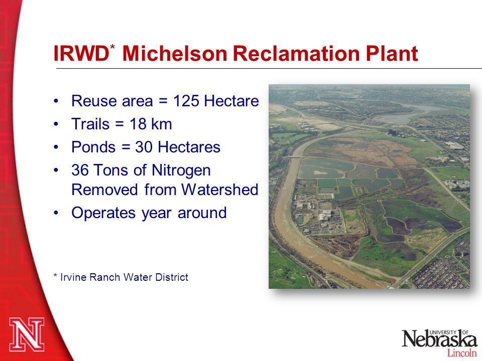 IRWD* Michelson Reclamation Plant